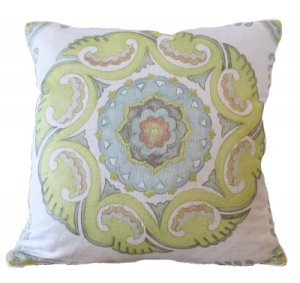funky pillows to pull in some color
