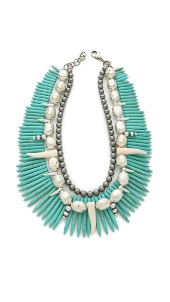 What to wear the statement necklace m street interiors for Words to wear jewelry